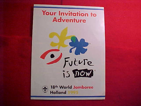 1995 WJ BROCHURE, BSA INVITATION TO ATTEND