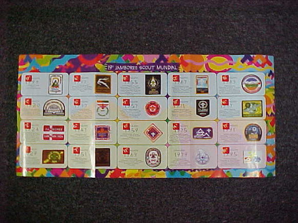 1999 WJ POSTER, PREVIOUS WJ PATCHES AND HISTORY