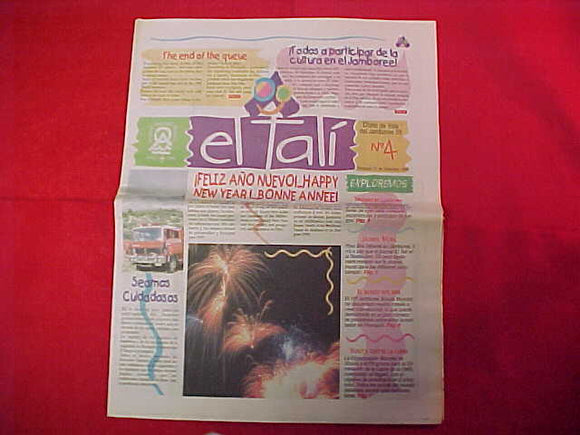 1999 WJ NEWSPAPER, EL TALI', #4