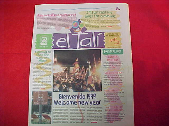 1999 WJ NEWSPAPER, EL TALI', #5