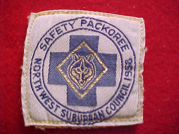 NORTHWEST SUBURBAN C. SAFETY PACKOREE, WOVEN, USED