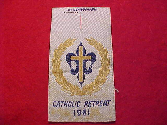 CATHOLIC RETREAT, 1961, WOVEN