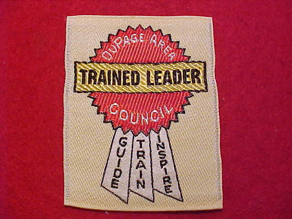 DUPAGE AREA C. TRAINED LEADER, WOVEN