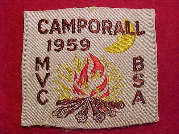 MVC CAMPORALL, 1959, WOVEN, USED