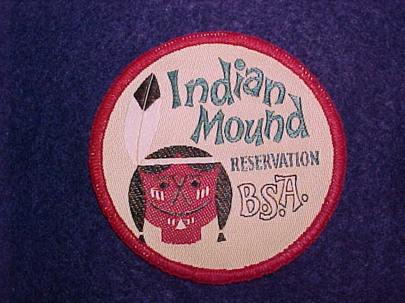 INDIAN MOUND RESERVATION WOVEN PATCH