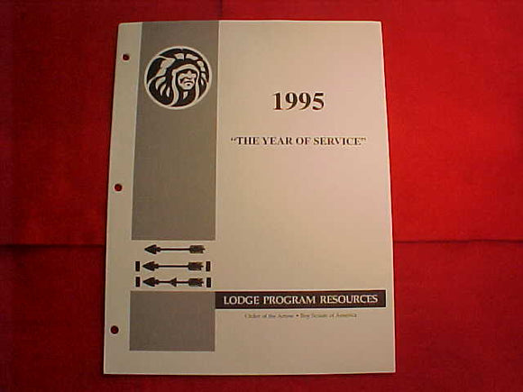 OA BOOKLET, 1995,