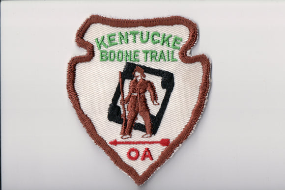 480 Kawida A1, Kentucke Boone Trail patch