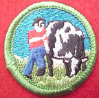 cow tipping spoof merit badge