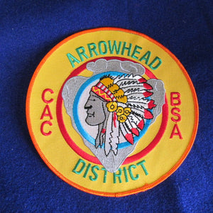 Arrowhead District, Crossroads of America Council, 6 jacket patch