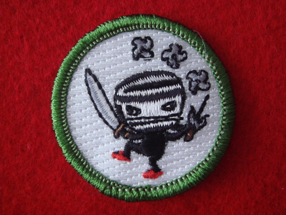 Ninja Spoof Merit badge