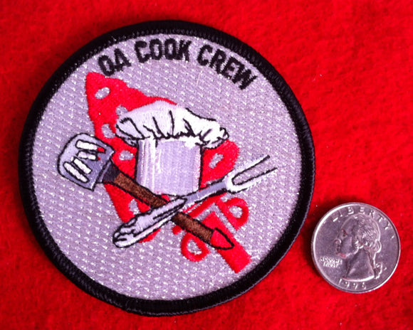 OA Cook Crew patch