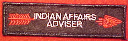 OA indian affairs adviser