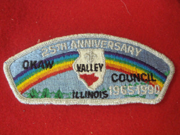 Okaw Valley C s3, 1965-1990, 25TH ANNIV.