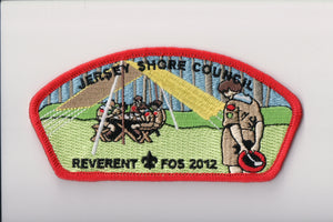 "Jersey Shore C sa47 2012 FOS, ""reverent,"" $168 donation"