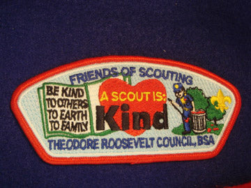 Theodore Roosevelt C (NY) sa17, A Scout is Kind