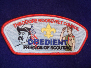 Theodore Roosevelt C (NY) sa37, Obedient