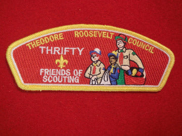 Theodore Roosevelt C (NY) sa84, 2009 FOS, Thrifty, Yellow Bdr.