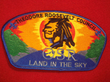 Theodore Roosevelt C (NY) sa92, 2009, OSR, Land in the Sky
