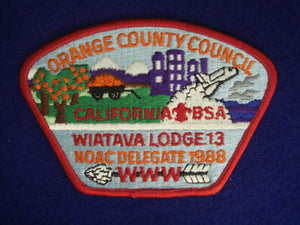 Orange County sa12 / Wiatava Lodge 13 x6