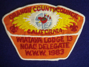 Orange County ta5 / Wiatava Lodge 13 x3