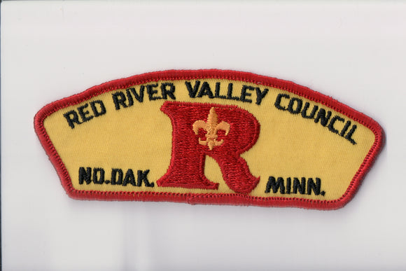 Red River Valley C t1 Rare first and only issue of the council