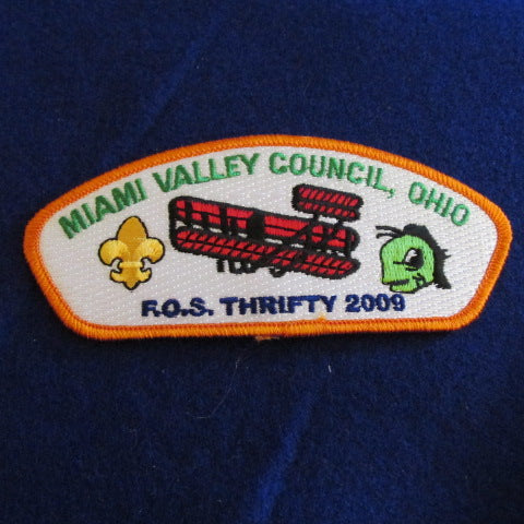 Miami Valley Council SA-44 2009 Friends of Scouting FOS Thrifty CSP