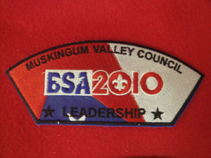Muskingum Valley C t41, 2010, Leadership