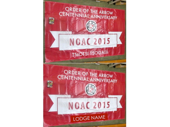 2015 NOAC Lodge 28 Half Moon banner