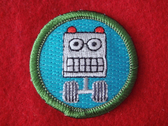 Robot Spoof Merit Badge