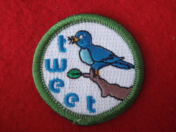Tweeting Spoof Merit Badge
