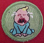 whiner spoof merit badge