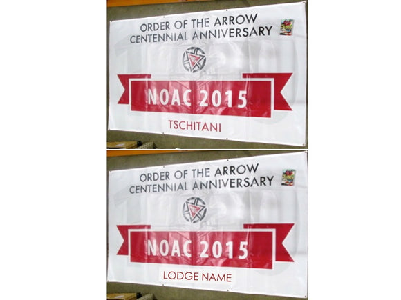 2015 NOAC Lodge 15 Ktemaque banner