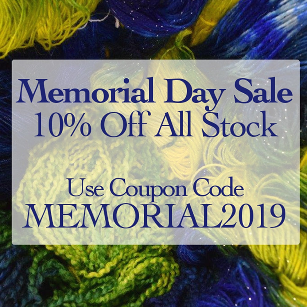 Memorial Day Weekend Sale, Save 10% on Everything in Stock