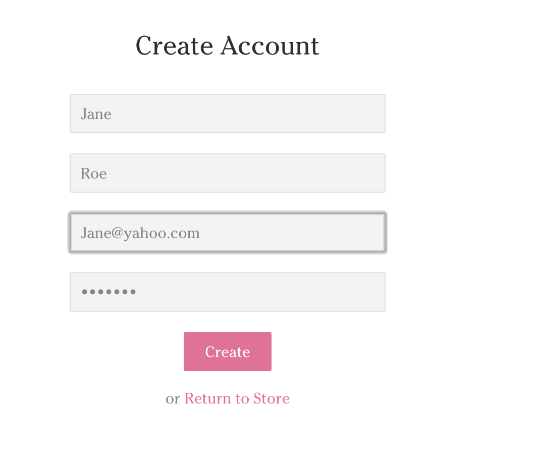 create your online yarn account