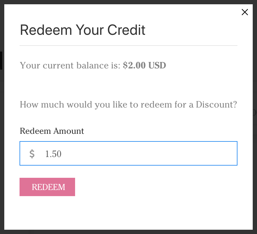 redeem store credit at yarn designers boutique