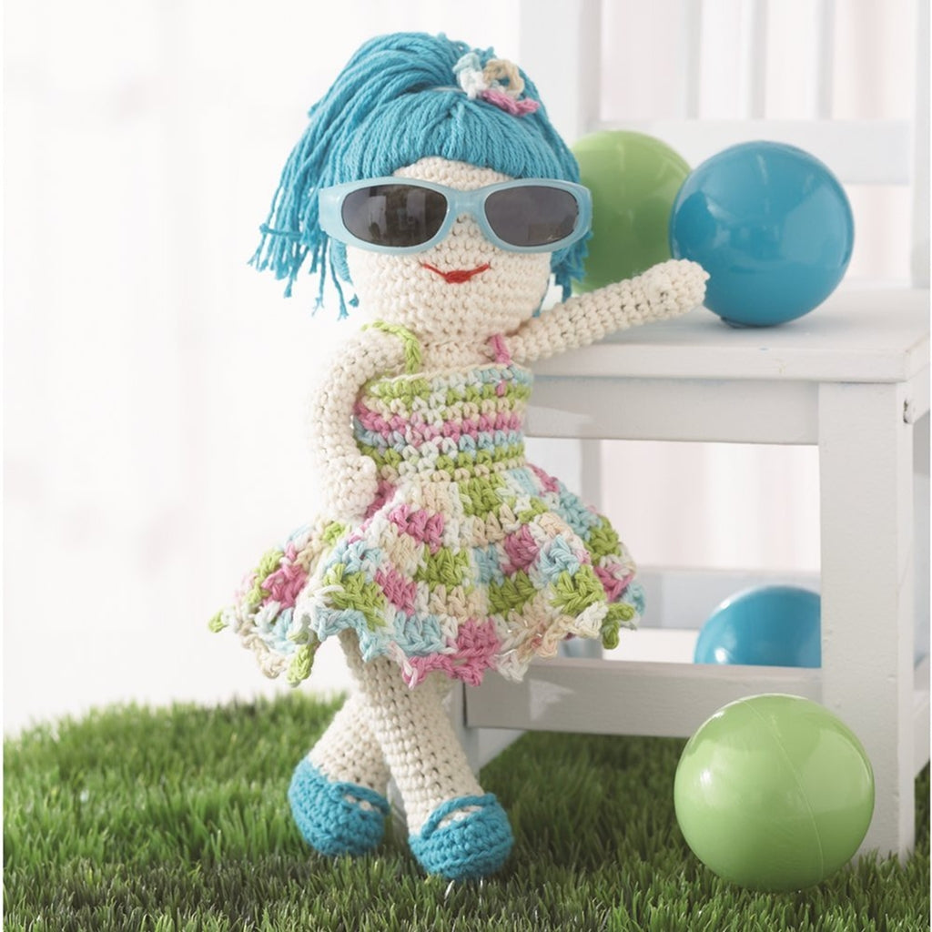 diy crocheted doll fun in the sun free pattern