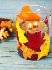 Votive Golder decorating ideas thanksgiving table decor crafts