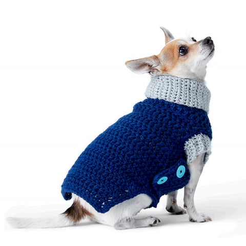 free crochet pattern fro dog coat