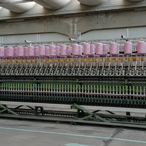 machines for spinning yarn to desired gauge