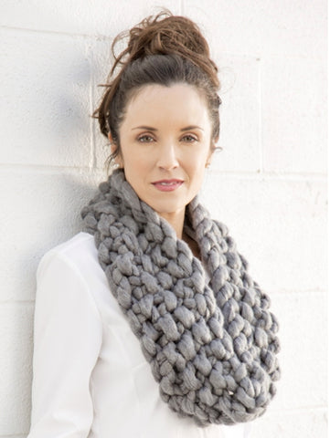 free knitting pattern jumbo knit cowl arm knitting cowl