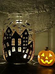 halloween candle holder ideas paint your own votive candle holder
