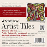 Artist Tiles for Watercolor, Strathmore 6 X 6 inch