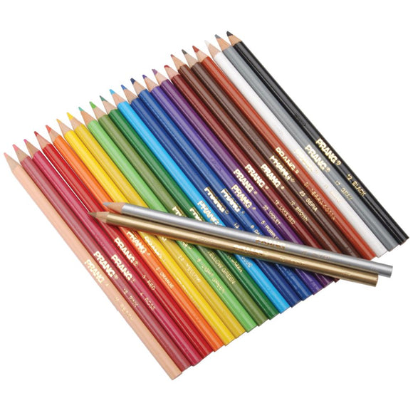 Colored Pencils Set of 24, 3.3mm Lead