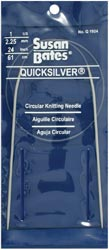 Quicksilver Circular Knitting Needles, Susan Bates
