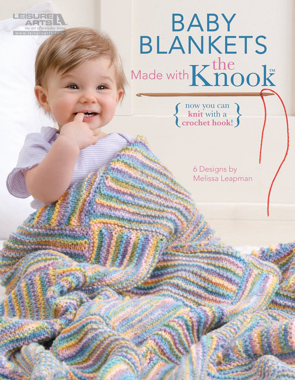 how to knook baby blankets book