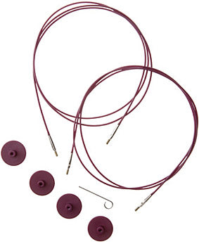 Knit picks interchangeable cords purple 60""