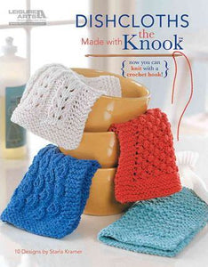 how to knook book make dishcloths learn stitches