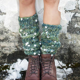 Knit Collage Daisy Chain Chelsea Morning Legwarmers