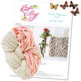 knit collage yarns double happiness cowl soft ivory sister yarn natural aura daisy chain