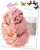 knit collage yarns double happiness cowl natural aura daisy chain dusty pink sister yarn